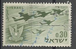 Israël 1962 Y&T N°216 - Michel N°255 (o) - 30a Formation En Vol - Gebraucht (ohne Tabs)