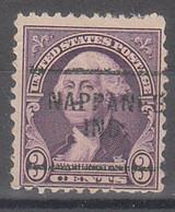 USA Precancel Vorausentwertungen Preos, Locals Indiana, Nappanee 720-703 - Precancels