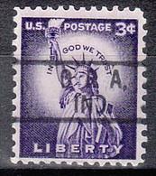 USA Precancel Vorausentwertungen Preos, Locals Indiana, Ora 801 - Precancels