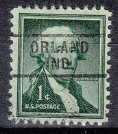 USA Precancel Vorausentwertungen Preos, Locals Indiana, Orland 729 - Precancels