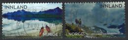 Norwegen Norway 2018. Mi.Nr. 1971-1972, Used O - Usados