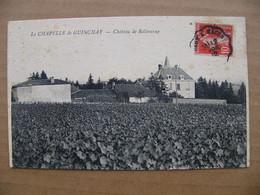 Cpa LA CHAPELLE DE GUINCHAY Château De Bellevue  71 Saône Et Loire - Other Municipalities