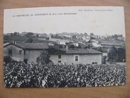 Cpa LA CHAPELLE DE GUINCHAY Les Deschamps   71 Saône Et Loire - Other Municipalities