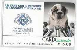CARTA AZIENDA II TIPO DT USATA 758 ENCI - Private-Omaggi