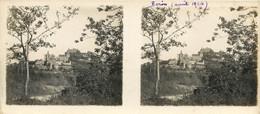 Carte Stéréoscopique : Biron Et Son Château. Dordogne. - Photos Stéréoscopiques