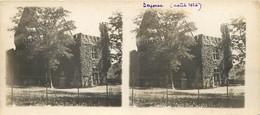 Carte Stéréoscopique : Château De BEYSSAC . DORDOGNE. Août 1926. - Photos Stéréoscopiques