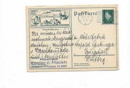 Ganzsachenkarte Aus München 1929 - Cartas