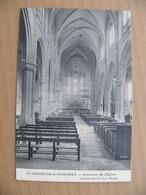 Cpa LA CHAPELLE DE GUINCHAY Intérieur De L'église  71 Saône Et Loire - Other Municipalities