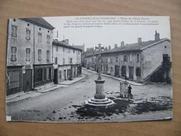 Cpa LA CHAPELLE DE GUINCHAY Place De L 'asile Ferret  71 Saône Et Loire - Other Municipalities