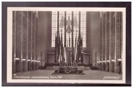 DT- Reich (022321) Propagandakarte Intern. Jagtausstellung Berlin 1937, Gelaufen Mit SST Berlin 10.11.1937 - Briefe U. Dokumente
