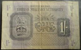 British Military Authority - One (1) Shilling 1943 - British Military Authority