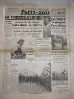 Journal Paris Soir 23 Mai 1938 Danielle Darrieux Reich Benès Louviot Saint Tropez Chine Rosny Sous Bois Kaimiloa - Otros