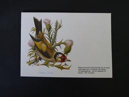 Buzin 2190 Putter Enveloppe Blanco - 1985-.. Birds (Buzin)