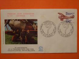 FRANCE 1er JOUR 1980-PA 53 Première Traversée De L'Atlantique Sur Enveloppe. Superbe - Andere