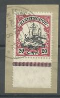 Deutsche Kolonien Kiautschou 32 Bfst. Tsingtau-Gr. Hafen - Colony: Kiauchau