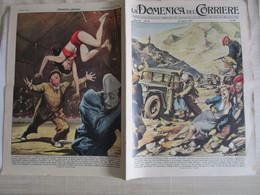 # DOMENICA DEL CORRIERE N 15 -1957 AMERICANI TRUCIDATI IN IRAN / SALVATAGGIO ACROBATA CIRCO FRANCESE - Prime Edizioni