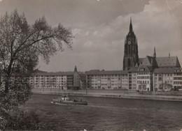 Frankfurt Main - Blick Auf Neubauten Am Main - Ca. 1960 - Frankfurt A. Main