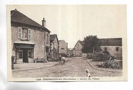 70 -  FROIDECONCHE ( Hte-Saône ) - Centre Du Village - Boulangerie - Other Municipalities