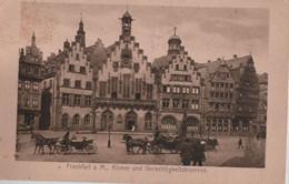 Frankfurt Main - Römer Und Gerechtigkeitsbrunnen - 1922 - Frankfurt A. Main