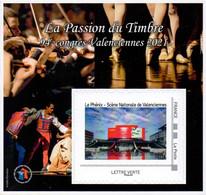 FFAP N° 19 De 2021 - Bloc Dentelé Autoadhésif - La Passion Du Timbre - Valenciennes - FFAP