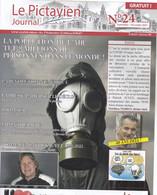 Magazine  Patrick Juvet Cover Plus 1/2 Page Le Pictivien N^¨°24 2021  RARE - Other