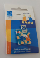 2004 Athens Olympic Games, Christmas With Mascots Pin - Jeux Olympiques
