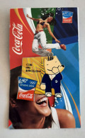 2004 Athens Olympic Games, Coca Cola Sponsor, Barcelona Olympic Games With Mascot Cobi Pin - Jeux Olympiques