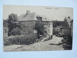 CPA 19 CORREZE - MEYMAC : Le Moulin - Scène Animée - Otros Municipios