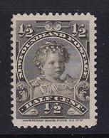 Newfoundland: 1897/1918   Prince Edward - Duke Of Windsor   SG83   ½c   MH - 1865-1902