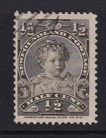 Newfoundland: 1897/1918   Prince Edward - Duke Of Windsor   SG83   ½c   Used - 1865-1902