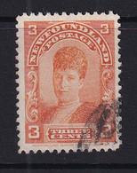 Newfoundland: 1897/1918   Queen Alexandra   SG88   3c   Orange   Used - 1865-1902