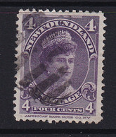 Newfoundland: 1897/1918   Queen Mary   SG89   4c     Used - 1865-1902