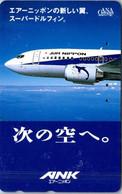 (29-09-2021 A) Phonecard - Japan - (1 Phonecard)  Air Nippon - Aerei