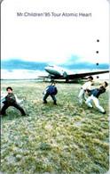 (29-09-2021 A) Phonecard - Japan ?  - (1 Phonecard) Aircraft & Music Band -1995 - Aerei