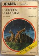 L'Odissea Di Glystra Di Jack Vance,  1975,  Mondadori - Fantascienza E Fantasia