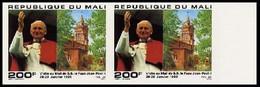 Mali 0562 Imperforés Jean-Paul II - Papes
