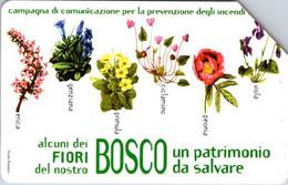 (29-09-2021 B) Phonecard - Italy ??  - (1 Phonecard) Flowers - Fiori