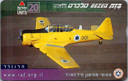 (29-09-2021 B) Phonecard -  Israel - (1 Phonecard) Aircraft - Avion - Aerei