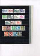 China P.R. 1955 + 1961 ,Workers , Buildings In China ( Regulars ) 20 Stamps Used - Gebruikt
