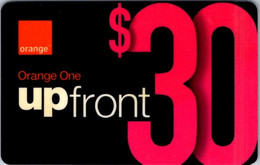 (29-09-2021 B) Phonecard -  Orange One - (1 Phonecard) $ 30.00 Up Front - Telefoni