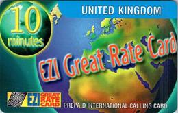 (29-09-2021 B) Phonecard -  EZI - (1 Phonecard) $ 3.90 - Telefoni