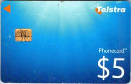 (29-09-2021 B) Phonecard -  Australia - (1 Phonecard) $ 5.00 Telstra - Australie