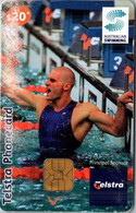 (29-09-2021 B) Phonecard -  Australia - (1 Phonecard) $ 20.00 - Athletics - Swimming - Australie