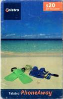 (29-09-2021 B) Phonecard -  Australia - (1 Phonecard) $ 20.00 - Beach - Australie