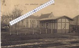 """LILLO-ANTWERPEN """"LILLO FORT -STATIE VAN DEN TRAM""""HOELEN 8708 UITGIFTE 03.02.1922 TYPE:6 - Antwerpen"""