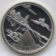 ALBERT II * Uit QP-set 2000 * 200 Frank DUITS Talig * Nr 10623 - 06. 200 Francs