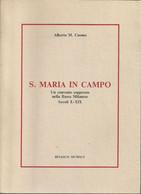 """Cuomo Alberto """"S. Maria In Campo, Un Convento Soppresso Nella Bassa Milanese Sec X-XIX"""" Multigrafica G.B.R. Binasco 1991 - Storia"""