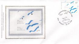 Enveloppe FDC Soie 2777 La Libre Pensée Malmédy - 1991-00