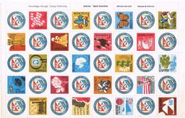 41871. Hojita AMERICAN TOPICAL Association (Milwaukee) A.T.A.  40 Viñetas, Label, Cinderella * - Varietà, Errori & Curiosità