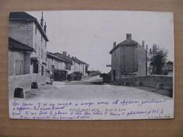 Cpa Pontanevaux ( La Chapelle De Guinchay ) Route De Lyon   Saône Et Loire 71 - Other Municipalities